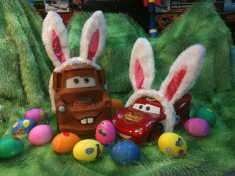 Disney's Cars for Easter