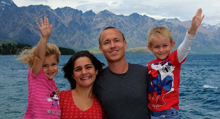 (Left to right) Hannah, Hoda, Ali and Kian - WeChaseSummer